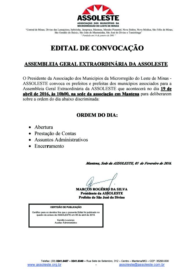 EDITAL 001 ASSEMB GERAL EXTRAORDINÁRIA ASSOLESTE 19-04cópia